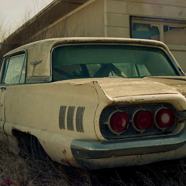 """1960 Thunderbird 1"" stock image"