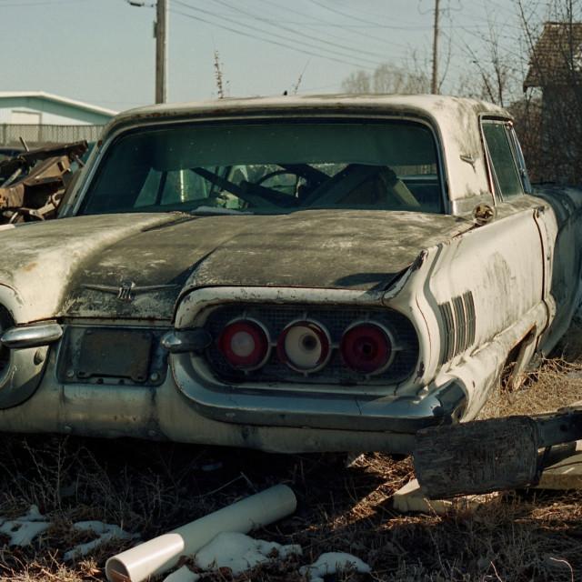 """1960 Thunderbird 2"" stock image"