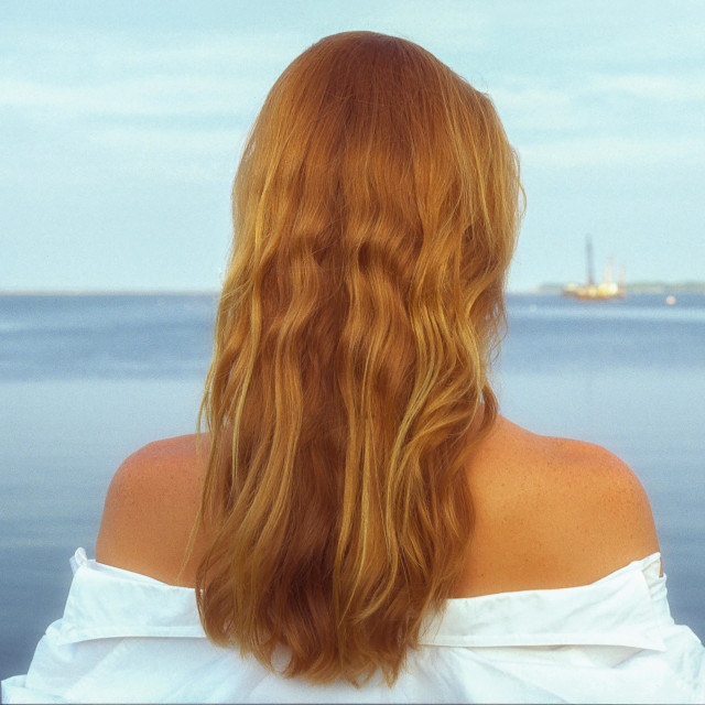 """""""Melissa by the Sea"""" stock image"""