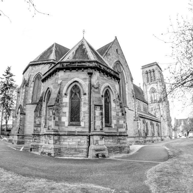 """""""Inverness Cathedral"""" stock image"""