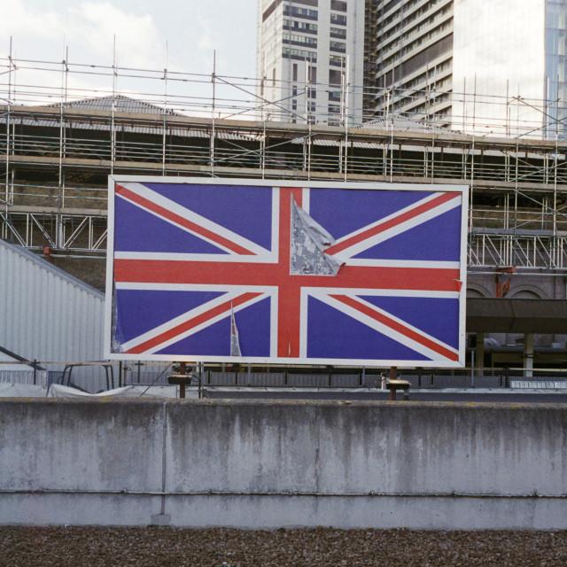 """""""Building site britain"""" stock image"""
