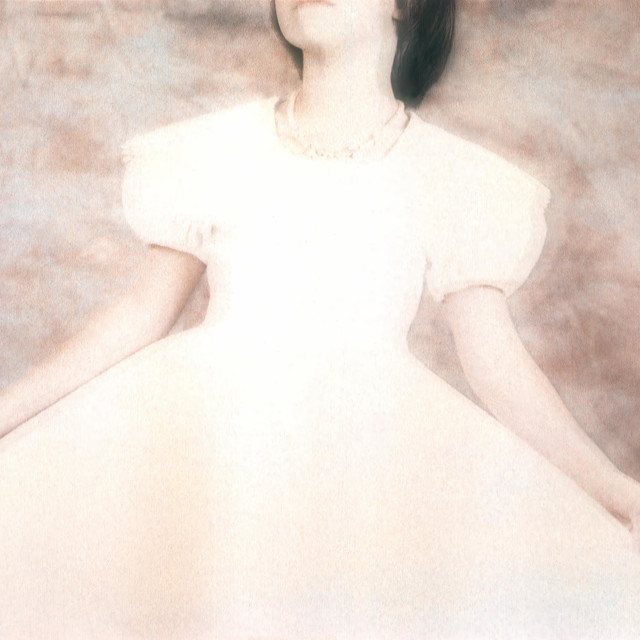 """""""The White Gown"""" stock image"""