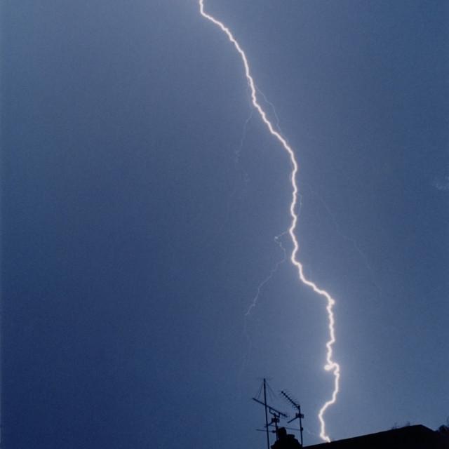 """Lightning 2"" stock image"