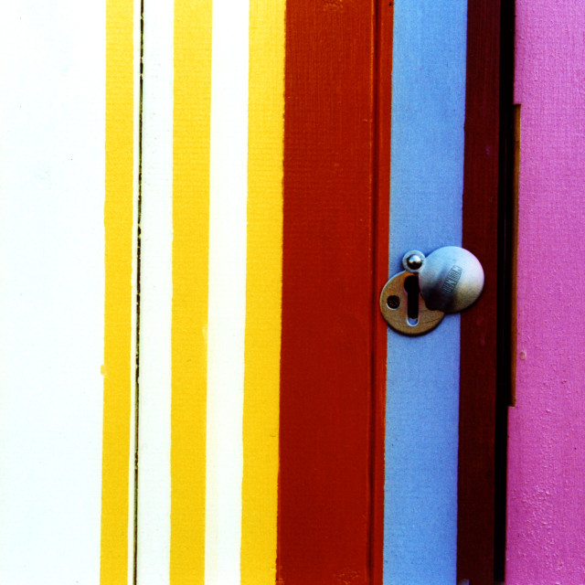 """""""Key to the colour"""" stock image"""