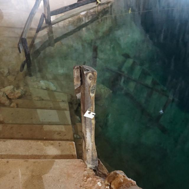 """""""Stairway to Xibalba"""" stock image"""