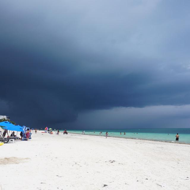 """Stormy Paradise"" stock image"