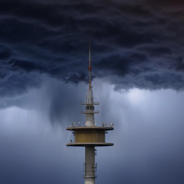 """Sendenhorst Tower"" stock image"