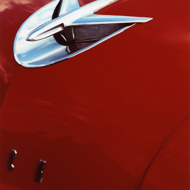 """""""Buick Red"""" stock image"""