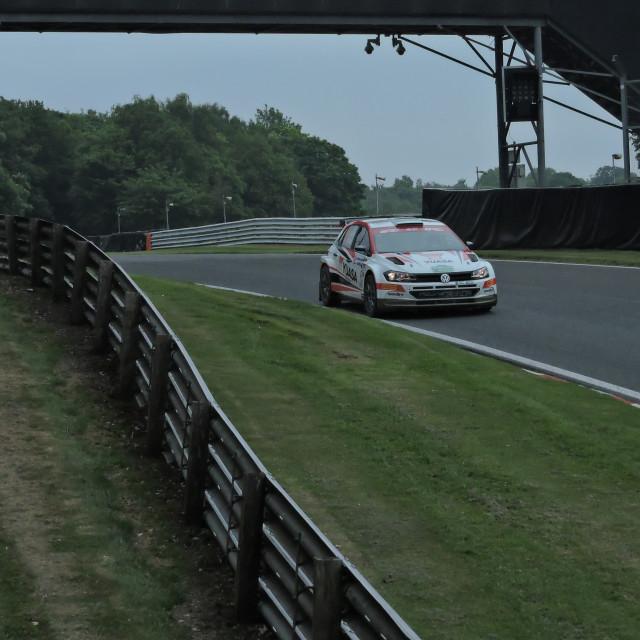 """""""Oulton Park Race Circuit"""" stock image"""