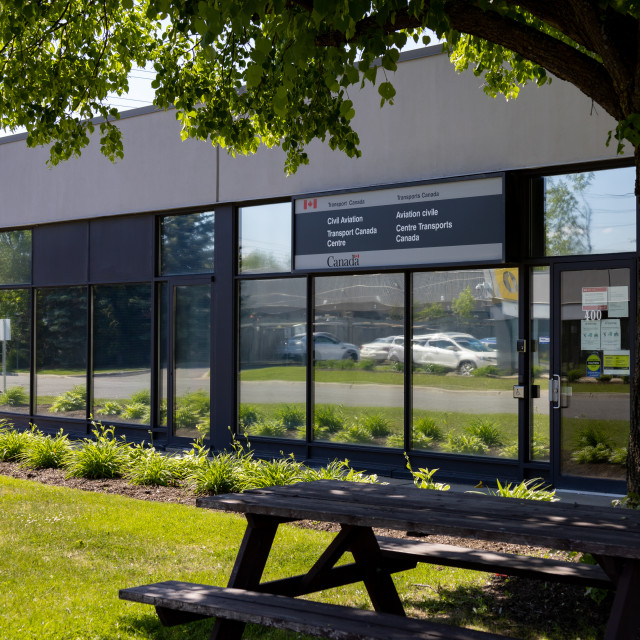 """""""Civil Aviation service centre in Ottawa, Canada"""" stock image"""