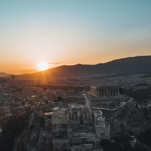 """""""Acropolis Of Athens"""" stock image"""