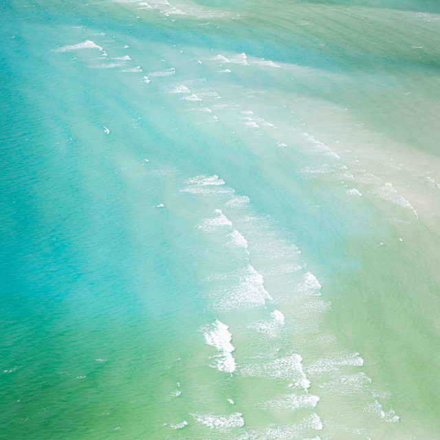 """Whitehaven Beach"" stock image"