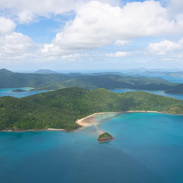 """""""Whitsunday Island"""" stock image"""