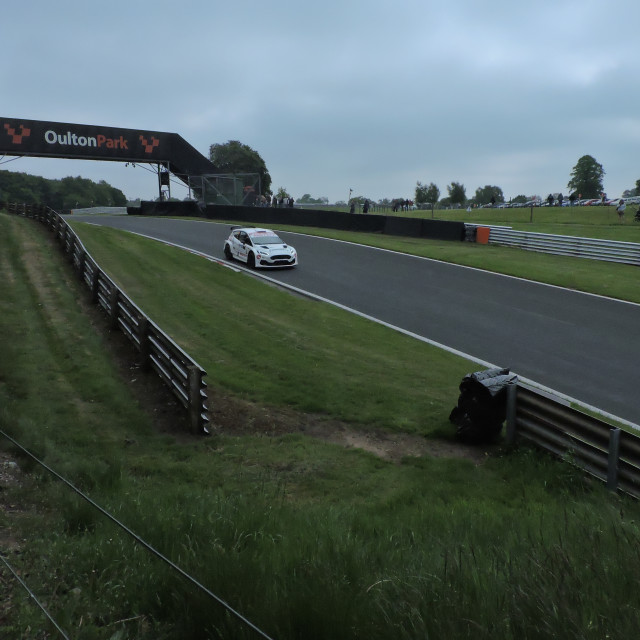 """""""Oulton Park, Neil Howard Stages, May 31st 2021"""" stock image"""