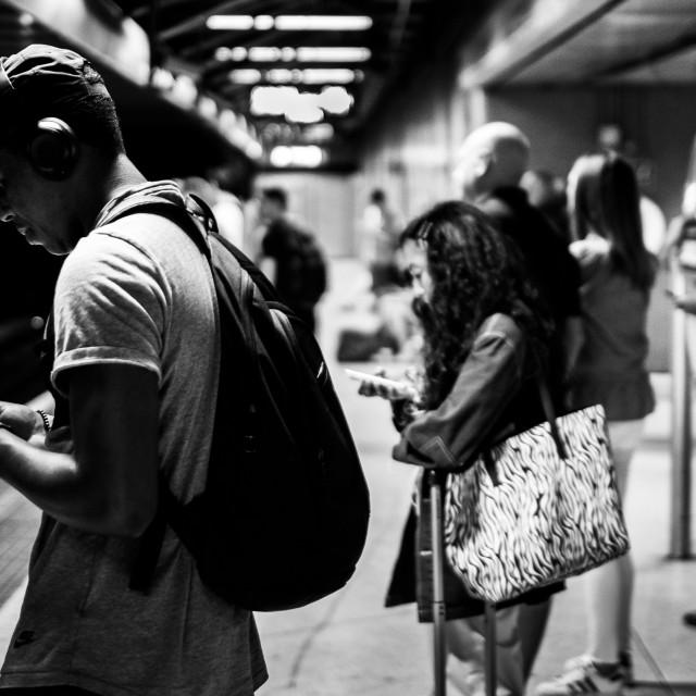 """Subway Scene"" stock image"