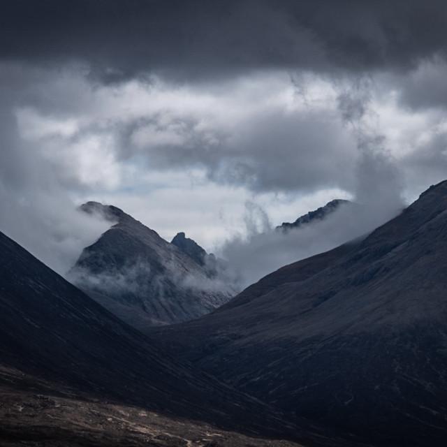 """MY WORLD - ISLE OF SKYE, SCOTLAND"" stock image"