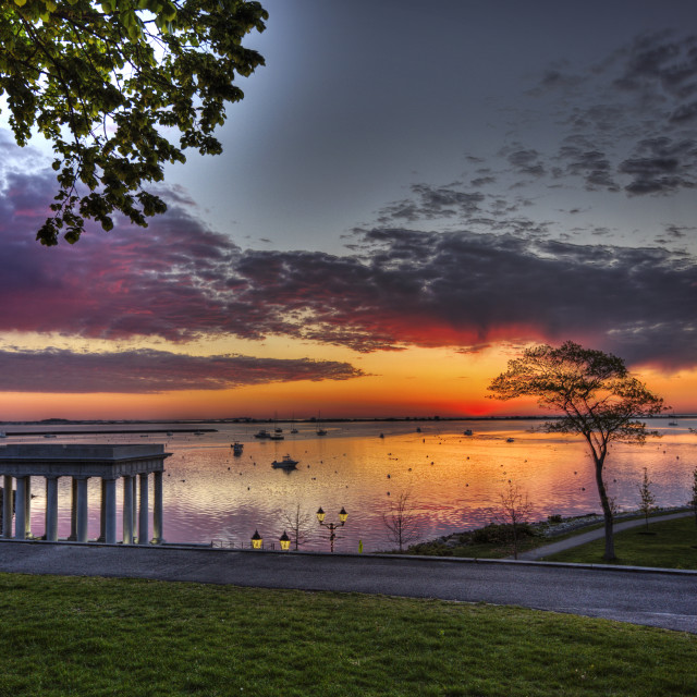"""""""Plymouth sunset 3"""" stock image"""