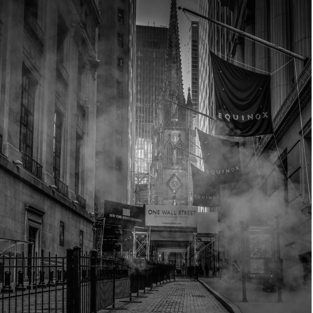 """Wall street"" stock image"