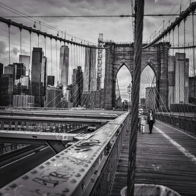 """Brooklyn Bridge NYC"" stock image"