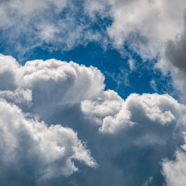 """""""Moody Clouds"""" stock image"""