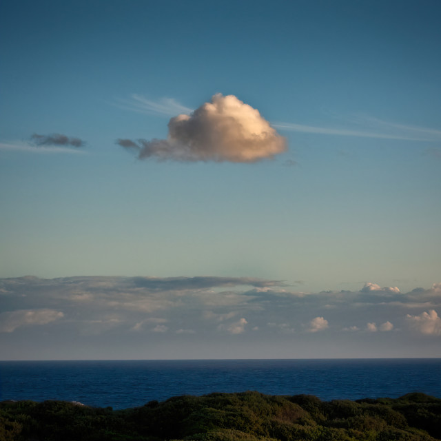 """""""Lonely Cloud"""" stock image"""