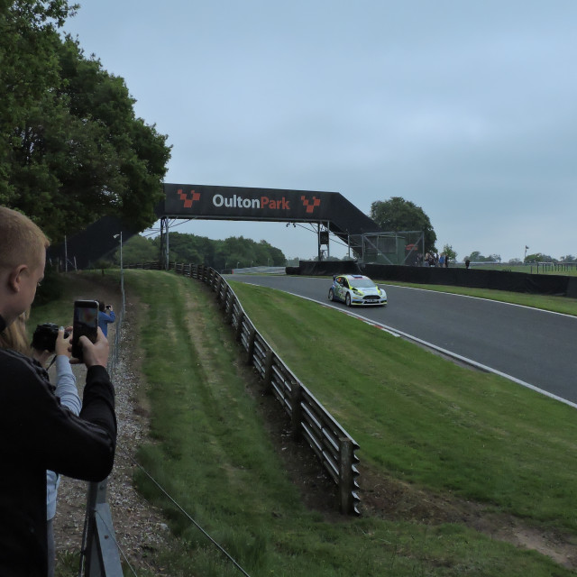 """""""Oulton Park Race Circuit, Neil Howard Stages, May 31st 2021."""" stock image"""
