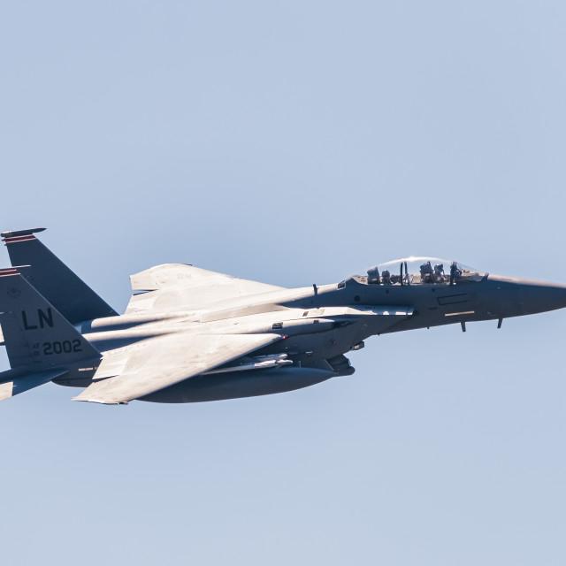"""""""F-15 Eagle"""" stock image"""