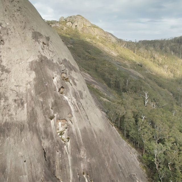 """Porongorup Ranges Aerial 2"" stock image"