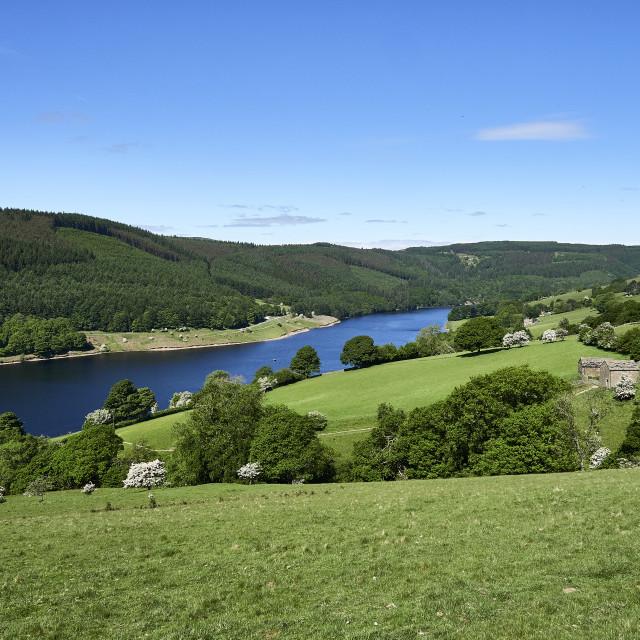 """UK - Derbyshire - Peak District"" stock image"