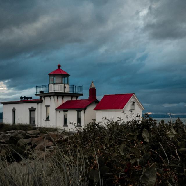 """Lighthouse views"" stock image"