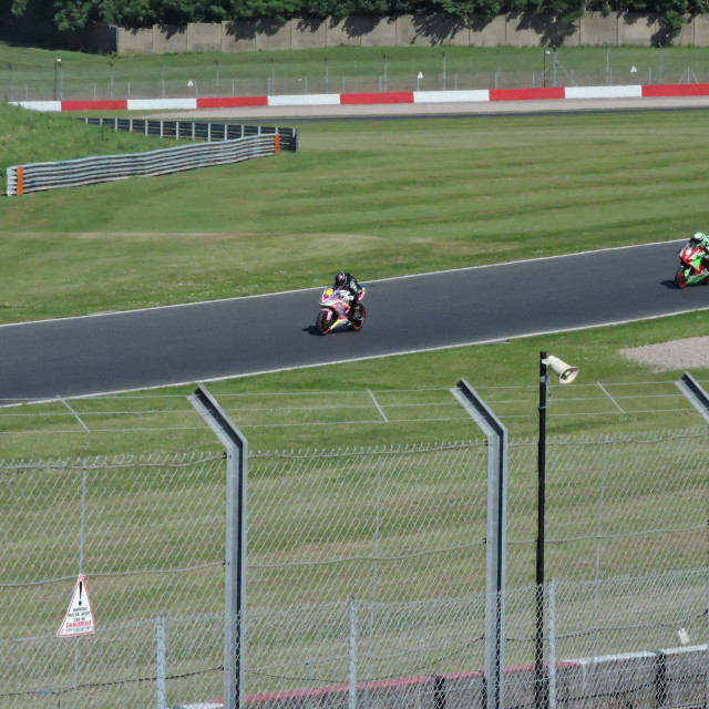 """""""Donington Park, BSB Test Day, 8th June 2021"""" stock image"""