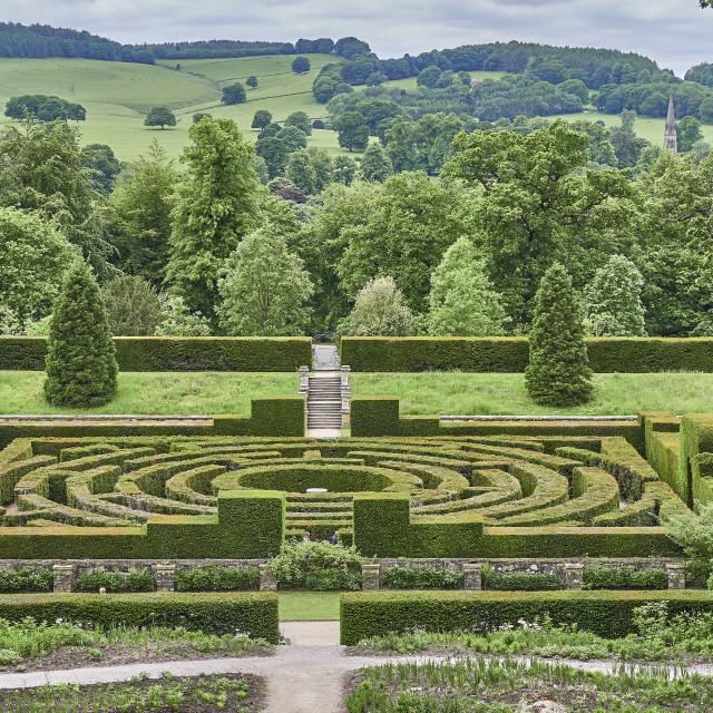 """""""UK - Derbyshire - Chatsworth House"""" stock image"""