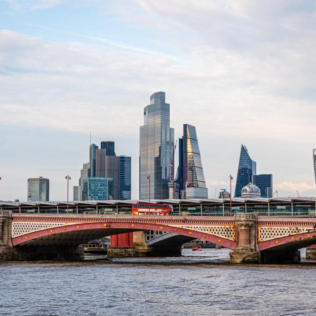 """London Skyline, UK"" stock image"