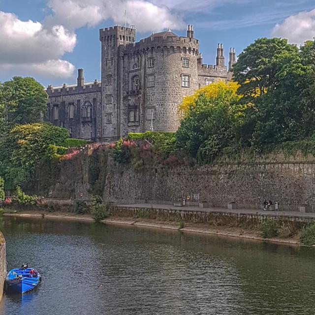 """""""Kilkenny Castle"""" stock image"""