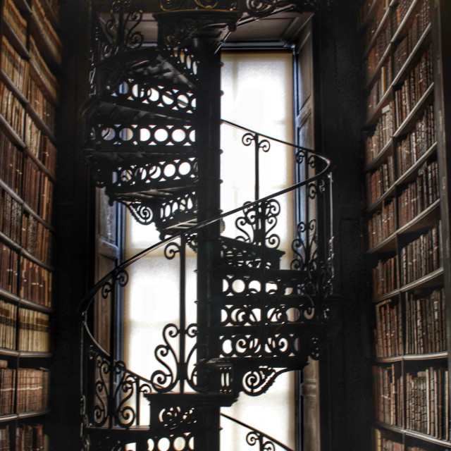 """""""Staircase of Knowledge"""" stock image"""