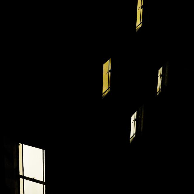 """City windows"" stock image"