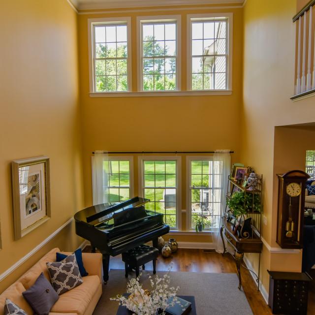 """06 Living Room"" stock image"