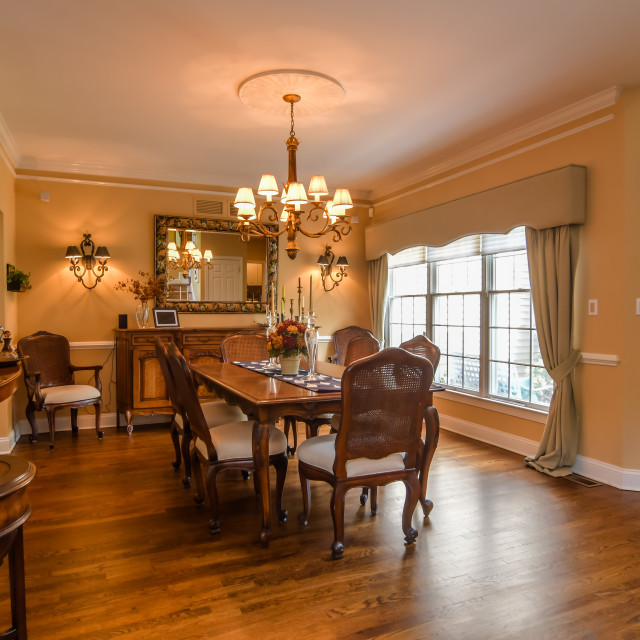 """""""09 Dining Room"""" stock image"""