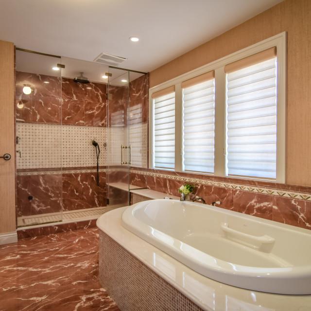 """21 Master Bathroom"" stock image"