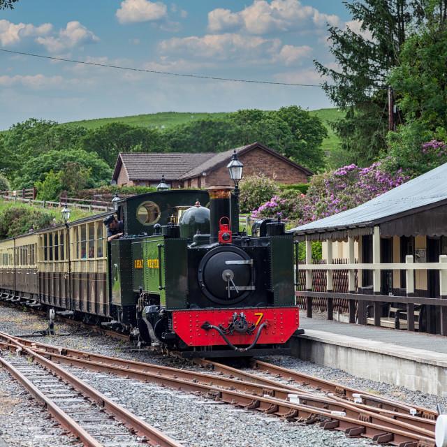 """Rheidol Railway"" stock image"