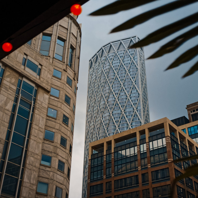 """""""Cabot Square, Docklands"""" stock image"""