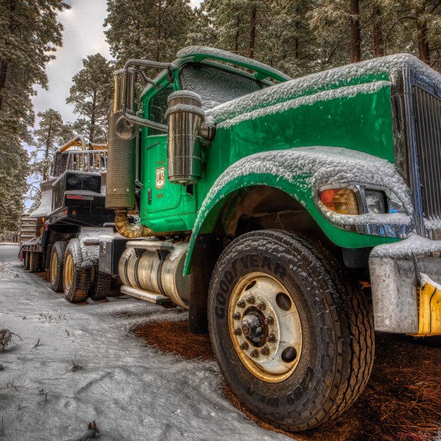 """""""National Park Service Rig"""" stock image"""