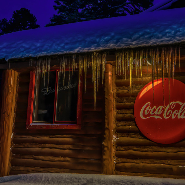 """""""Coca-Cola Storm"""" stock image"""