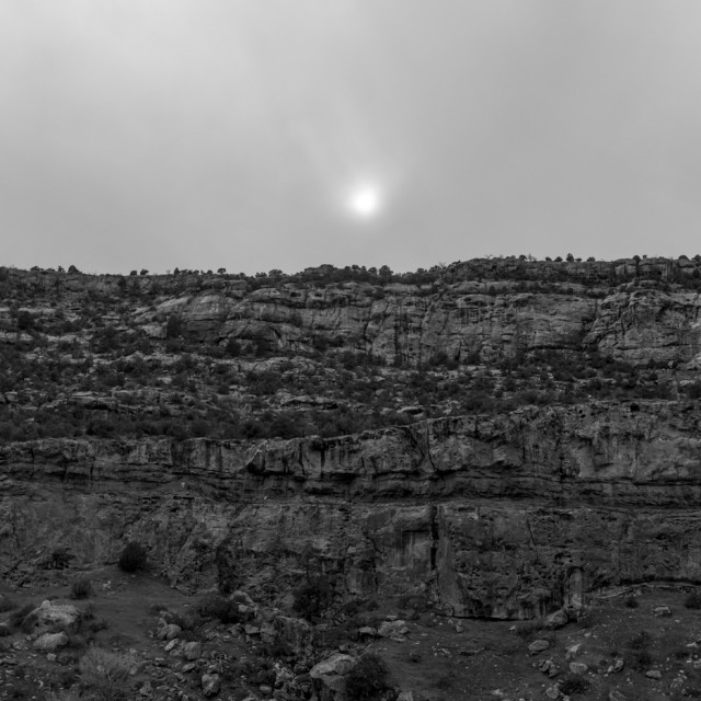 """""""Landscape in black and white"""" stock image"""