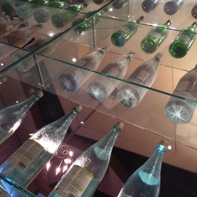 """""""Bottle display"""" stock image"""