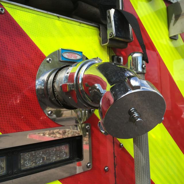 """Firetruck Detail"" stock image"