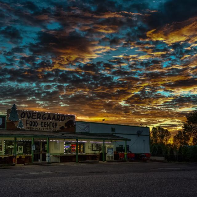"""Rim Country Sunrise"" stock image"