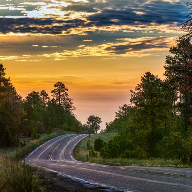 """""""Sunrise Highway"""" stock image"""