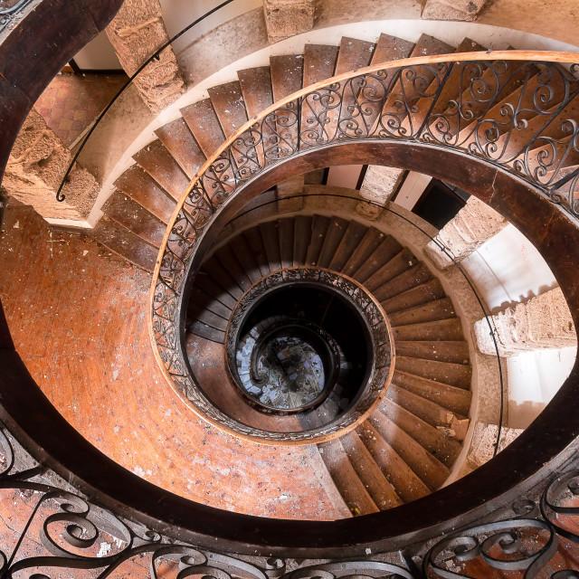 """Staircase The Eye"" stock image"