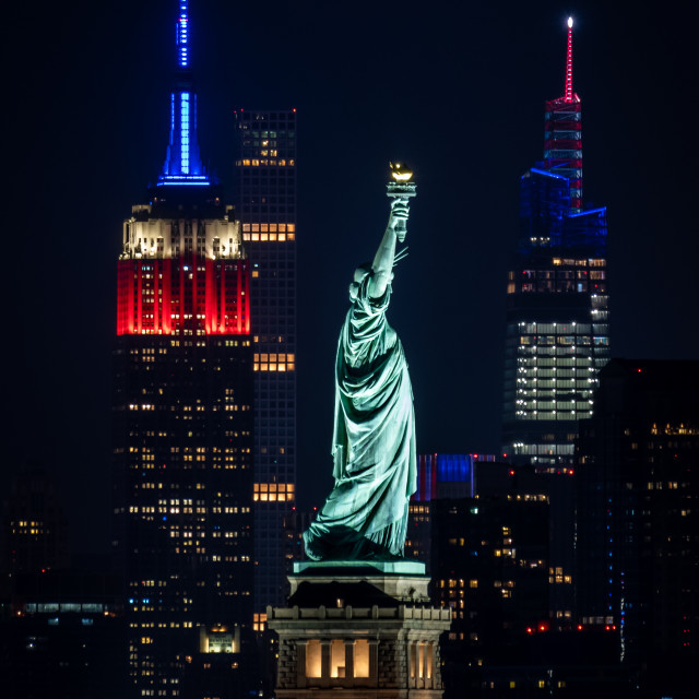 """""""Red White and Blue"""" stock image"""